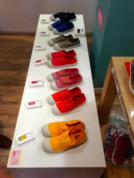 Collection Bensimon x Nailmatic en boutique d'Aix