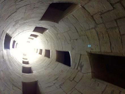 Escalier depuis l'intérieur