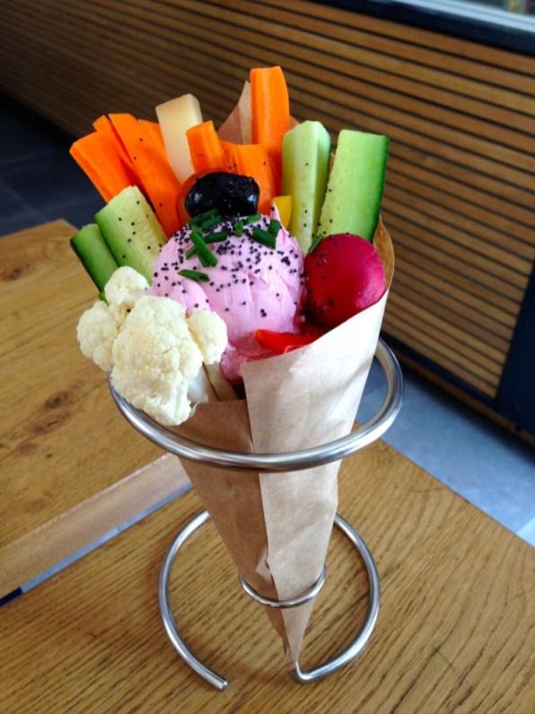 Cornet de légumes