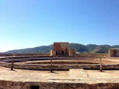 Toit panoramique du château