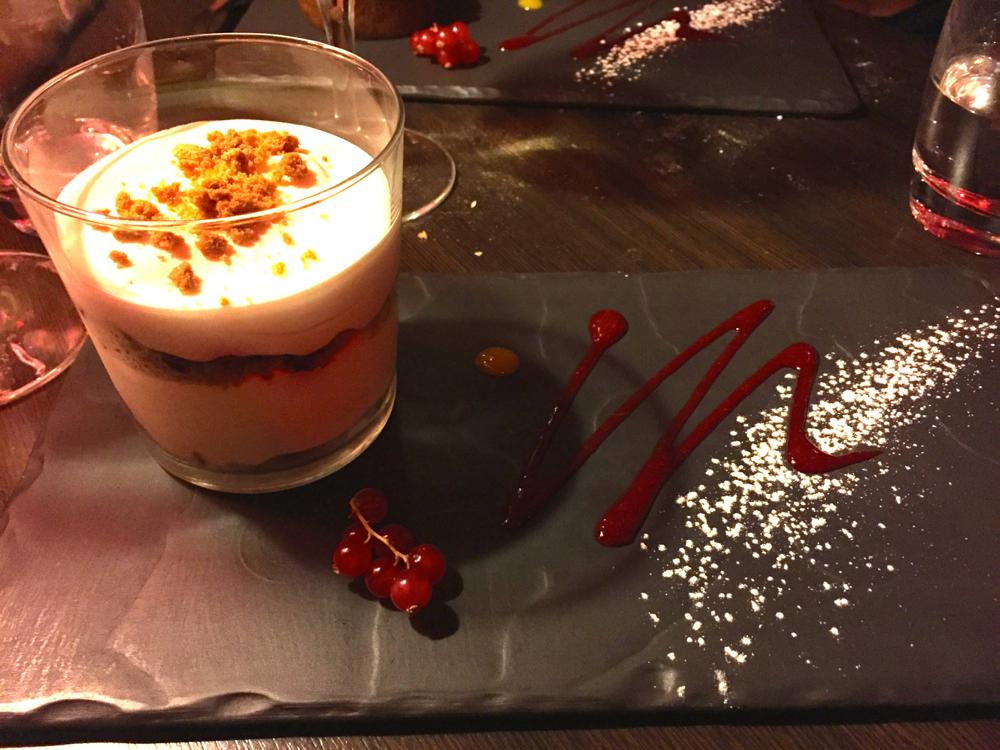 Trifle chocolat blanc framboise