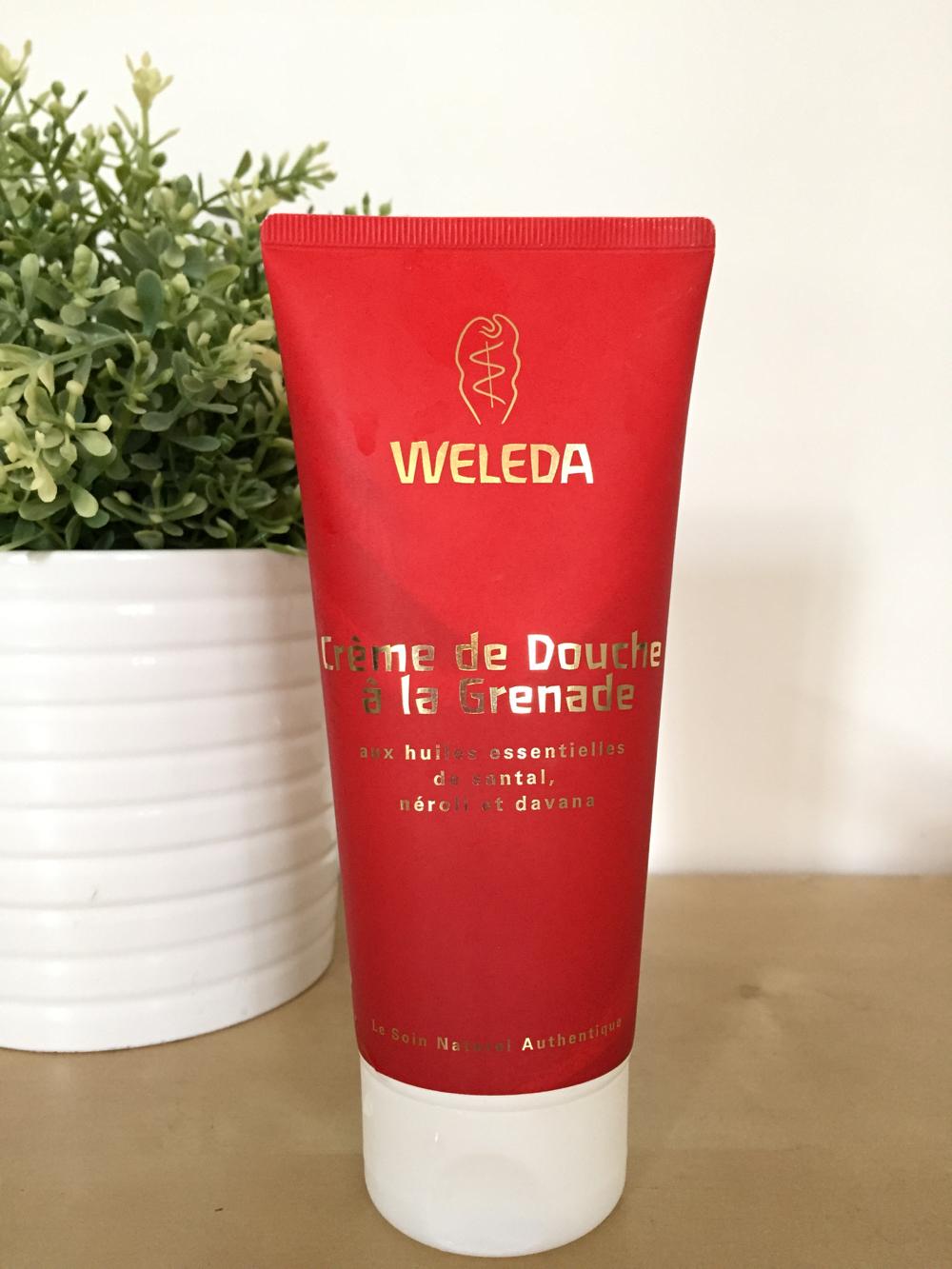 Creme Douche Grenade Weleda - 1