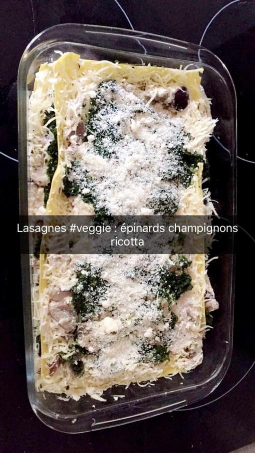 Recette Lasagnes Champignons Epinards - 2