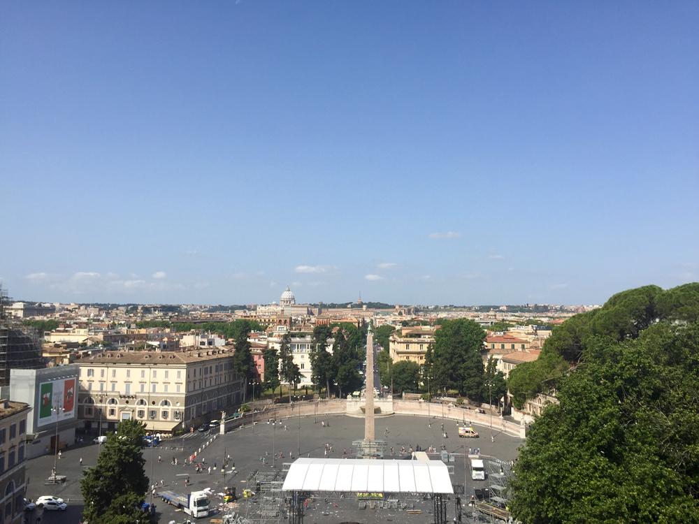 Piazza del Popolo Rome - 1