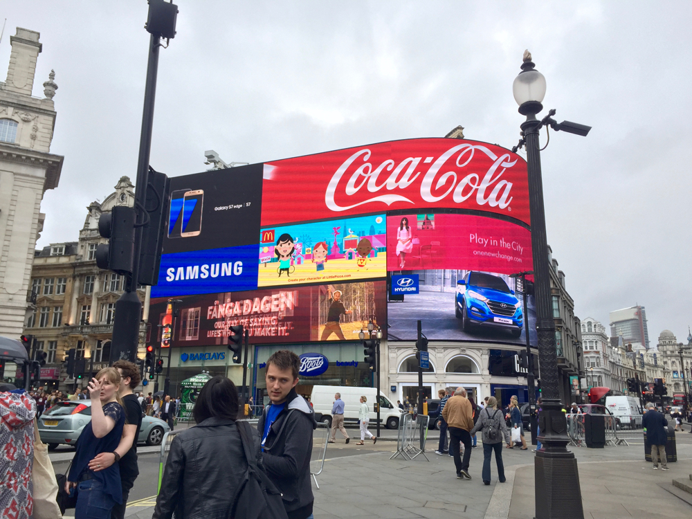 Picadilly Circus Londres - 1