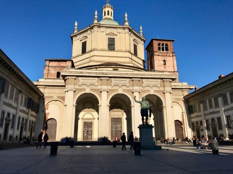 Basilique Saint-Laurent de Milan