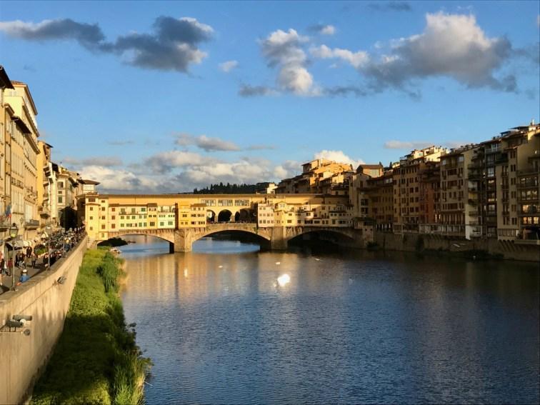Ponte Vecchio depuis Ponte Santa Trinita