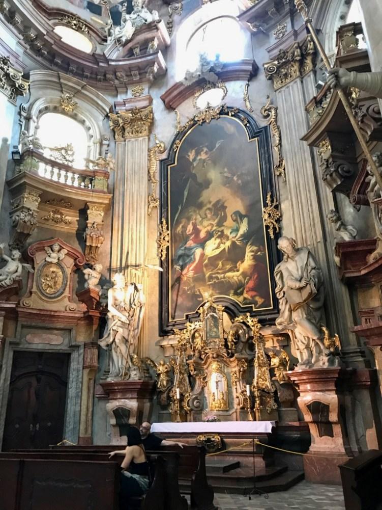 Eglise Saint Nicolas Mala Strana Prague - 5
