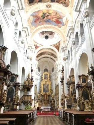 Eglise Saint-Thomas Prague - 1