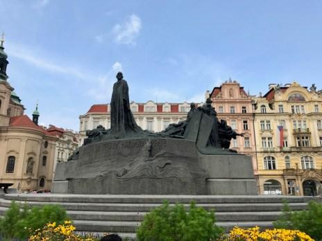 Monument Jan Hus