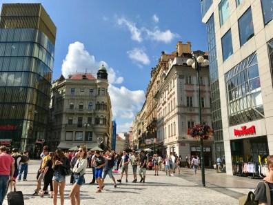 Place Venceslas Prague - 3