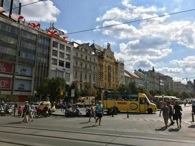 Place Venceslas Prague - 5