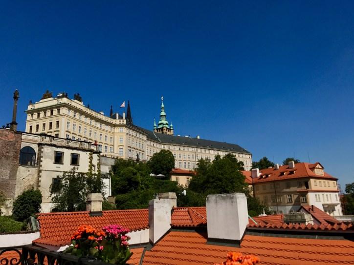 Vue depuis Vegan's Prague