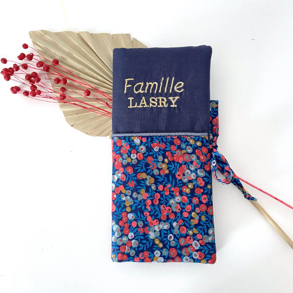Carnet de famille personnalisé