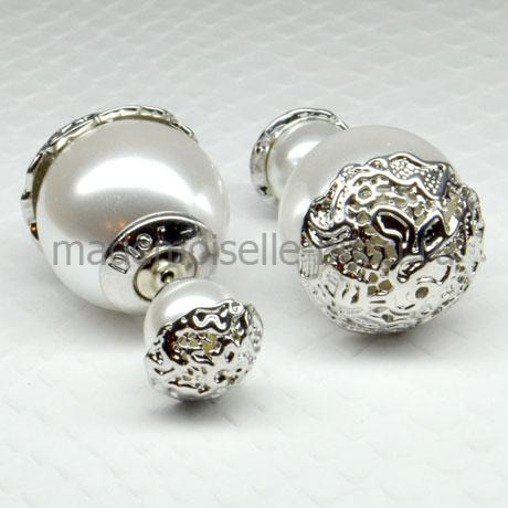 Элитные серьги Elite La Perla Silver Dream
