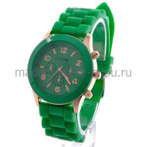 Зеленые наручные часы Jeneva Emerald