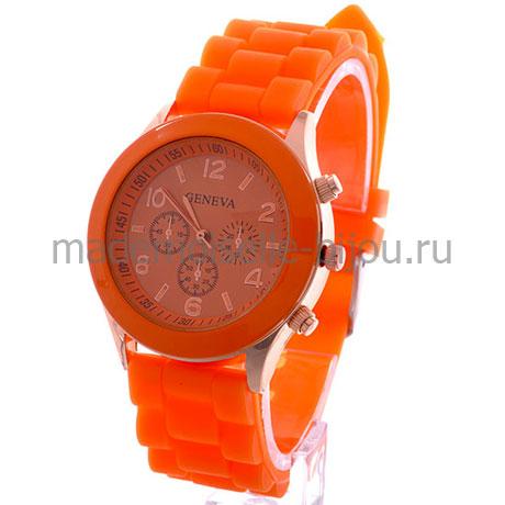 Часы женские оранжевые Geneva Orange