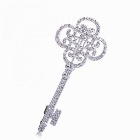 брошь ключ