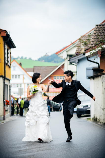 Hochzeit Shooting Chilbi Kirmes Appenzell Andreas Feusi