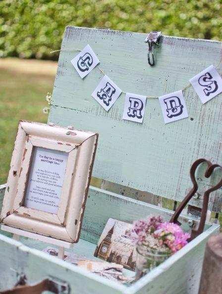 Vintage Koffer Kiste Hochzeit Deko HoneyHome