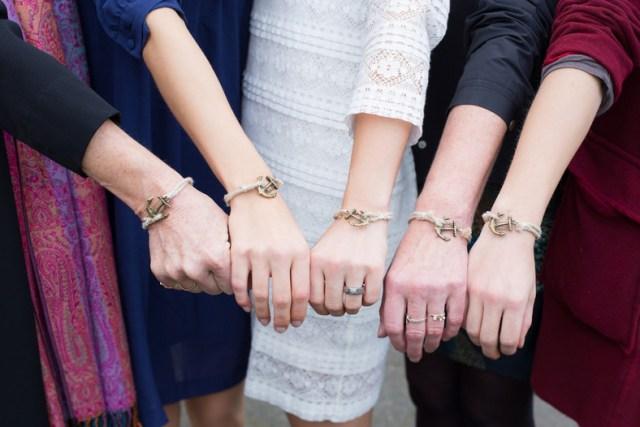 Hochzeit Sylt Armband Anker