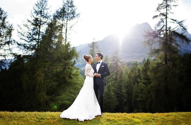 Hochzeit St. Moritz Suvretta Shooting