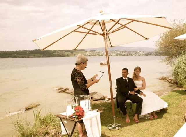 Hochzeit Zürichsee Schiff Freie Trauung Outdoor CM Weddings Vintage