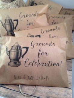 Gastgeschenk Hochzeit Kaffee