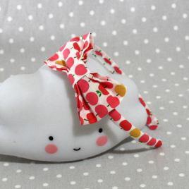 serre-tête petit nœud/accessoire enfant pommes- apple kid's headband