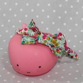 Serre-tête petit nœud/accessoire enfant Liberty Wiltshire groseille