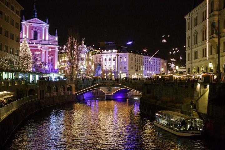 Le mille luci di Lubiana