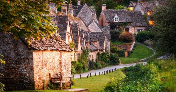Bibury-Inghilterra