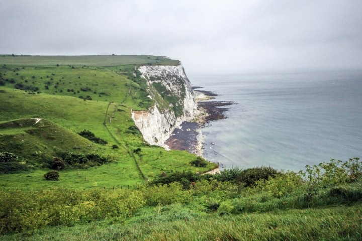 The White Cliff Dover