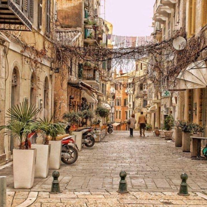 Vacanza a Corfù: Centro storico