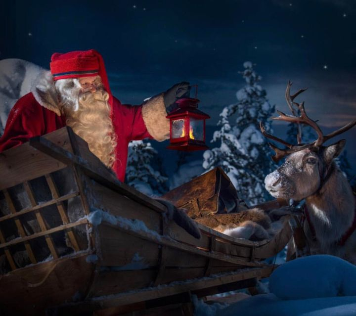 In viaggio a Rovaniemi. A casa di Babbo Natale.