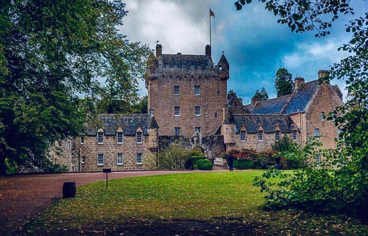 Castelli Scozzesi: Cawdor Castle vista frontale