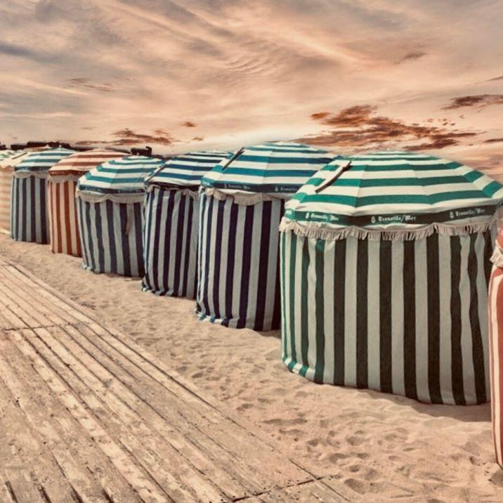 10 luoghi da vedere in Normandia: Trouville sur Mer Spiaggia