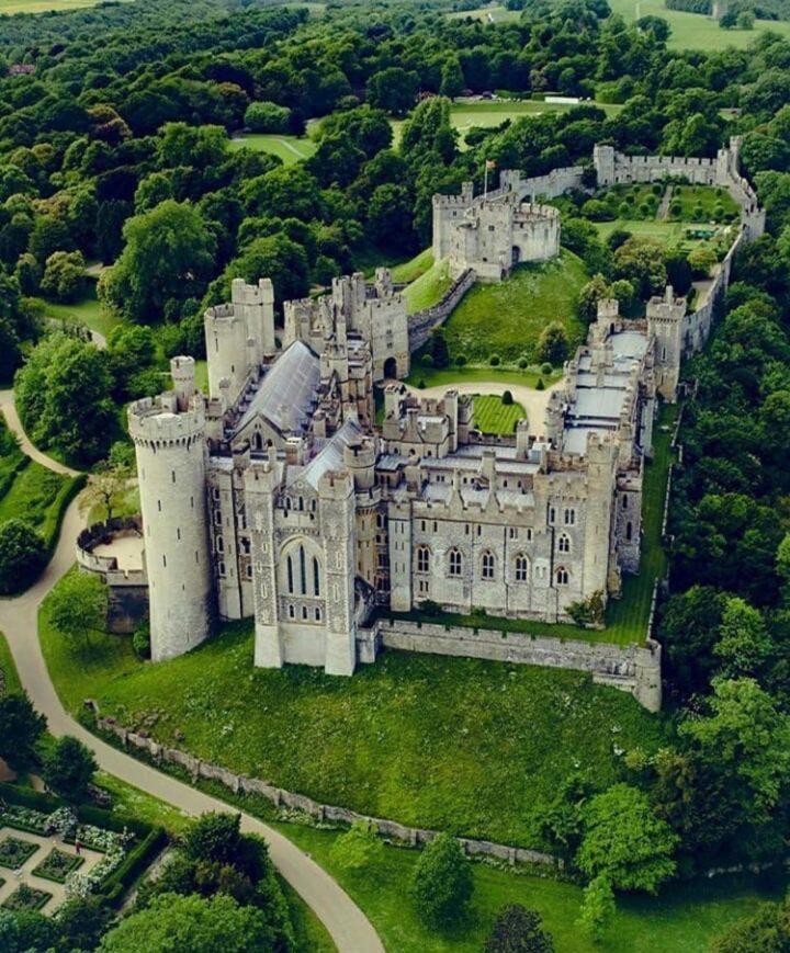 Bodian Casyle, castelli inglesi