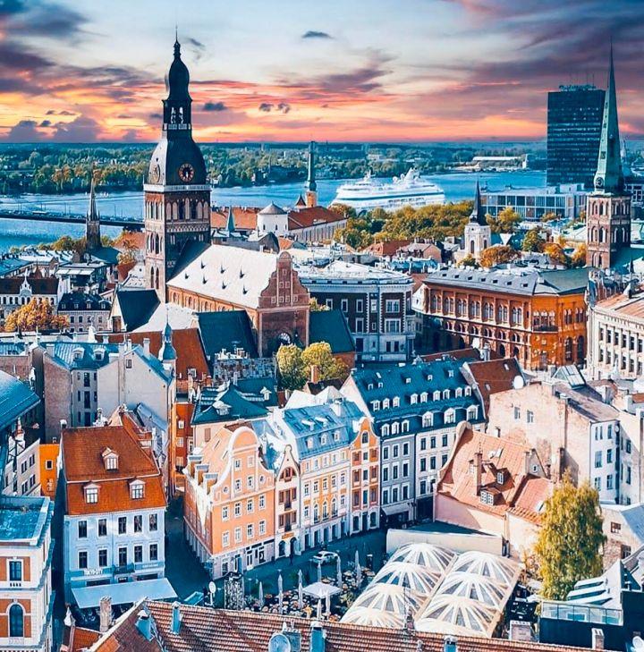 Riga, Europa in Autunno
