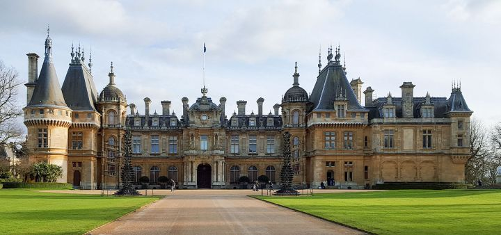 Location di The Crown: Waddesdon Manor