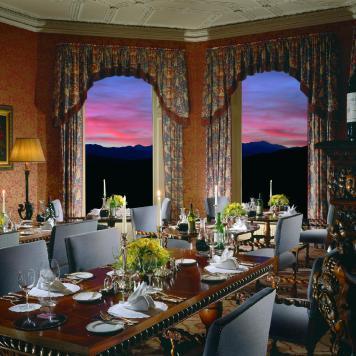 Inverloch Castle Hotel dinning room