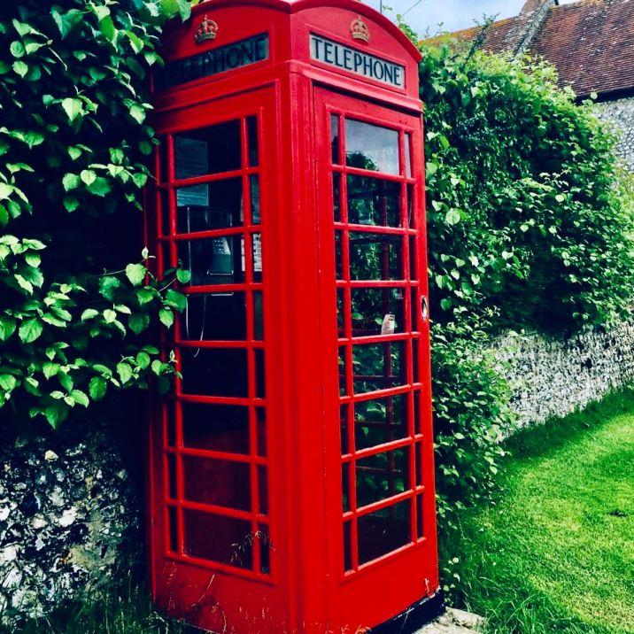 East Dean Red Telephone box