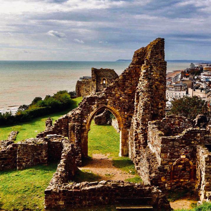 Hastings resti del castello