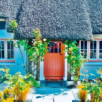 Tipiche abitazioni ad ADARE (Contea di Limerick)