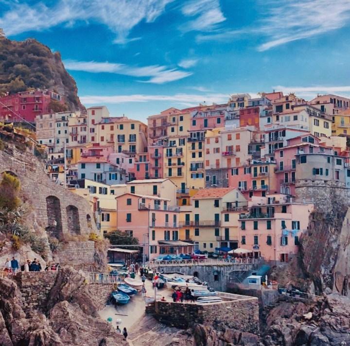 Manarola Cinque Terre Liguria, Italia