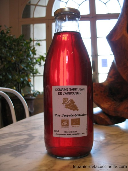 Domaine-Saint-Jean-de-l'Arbousier-jus-de-raisin