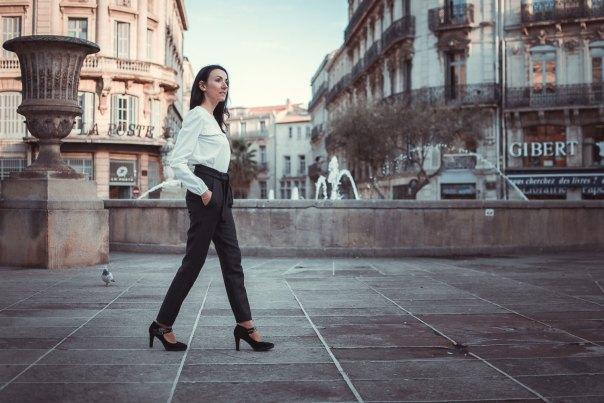 Vêtements made in France Danielle Engel, marque de mode éthique à Montpellier, présentés par Mademoiselle Coccinelle