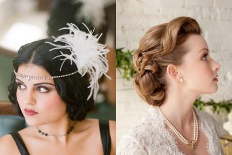coiffure-de-mariage-rétro-glam
