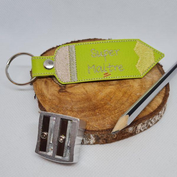 mademoiselle-eleonore-couture-evreux-eure-normandie-couture-porte-clés super maître - vert