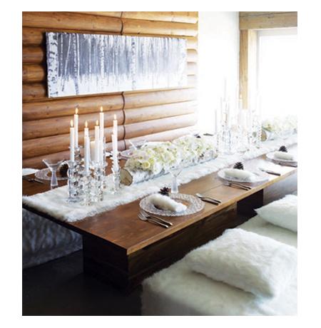 [Inspiration] Jolies tables d'hiver